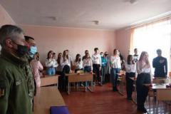 У ЗЗСО Монастирищенської громади відзначили День українського добровольця