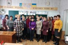 Майстер-клас для вчителів української мови і літератури району