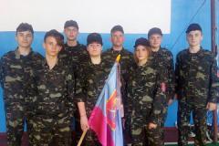 Рій «Богунівські соколи» представив Монастирищину  у І турі ІІ (обласного) етапу Всеукраїнської дитячо-юнацької  військово-патріотичної гри «Сокіл» («Джура»)