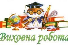 Методичні рекомендації щодо організації виховної роботи в закладах освіти у 2021-2022 н.р.