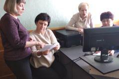 Один з робочих моментів Центру професійного розвитку педагогічних працівників