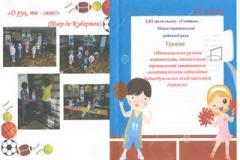 Інструктори з фізкультури і вихователі різновікових груп  обговорили проблему забезпечення оптимальної рухової активності, відповідно до індивідуальних особливостей дитини